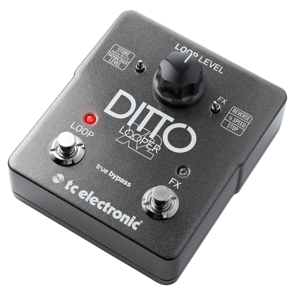 TC Electronic Ditto Looper X2 Pedal Review