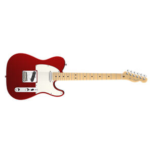 FENDER American Standard Telecaster Electric Guitar Maple Mystic Red Solid Body