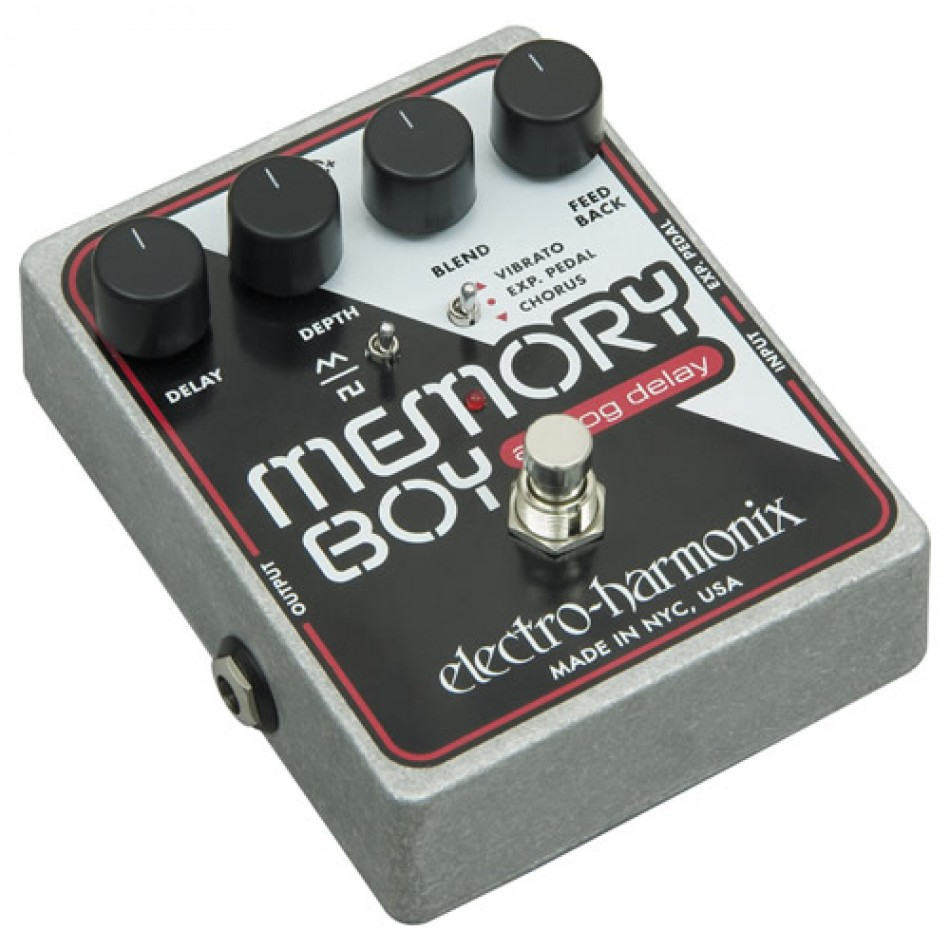 Electro-Harmonix Memory Boy Delay Effects Pedal Review