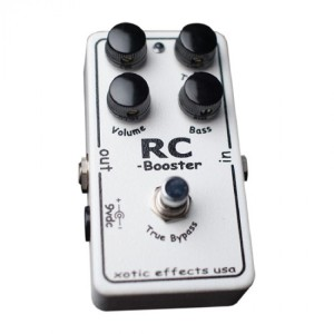 Xotic Effects RC Booster Effects Pedal