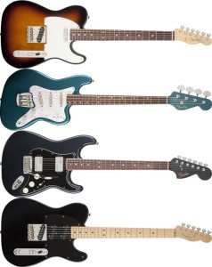 New Fender Guitars American Standard Blacktop Classic