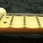 Guitar Mods: Scalloped Fretboard