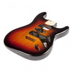 Electric Guitar Body Types and Tone