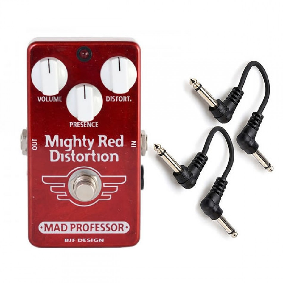 Mad Professor Mighty Red Distortion Effects Pedal Review