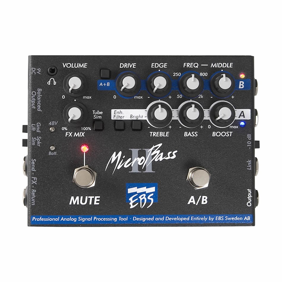 The Importance of a Bass Preamp Pedal