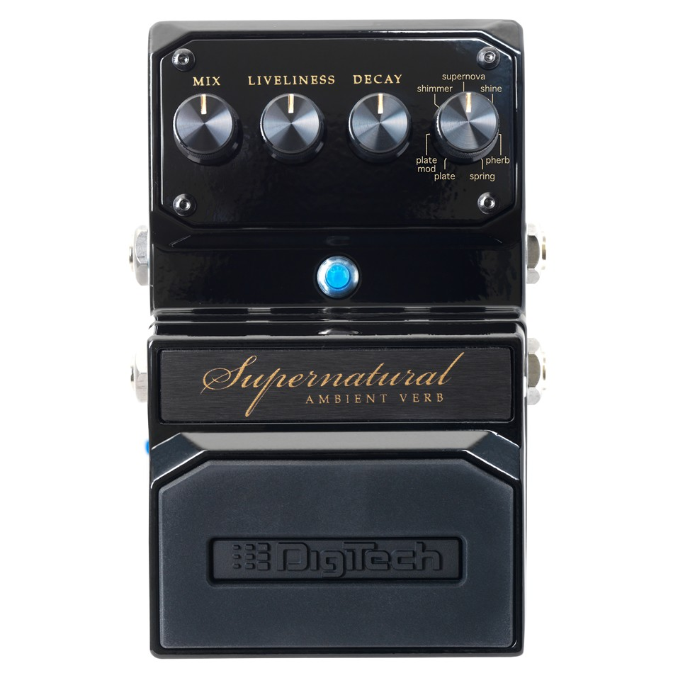DigiTech Supernatural Ambient Reverb Pedal Review