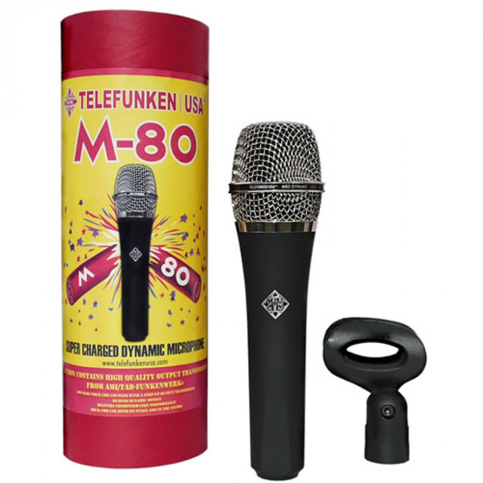 Telefunken M80 Dynamic Vocal Microphone Review