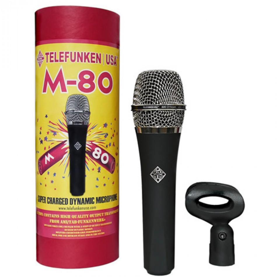 telefunken m80 dynamic vocal microphone review proaudioland musician news. Black Bedroom Furniture Sets. Home Design Ideas