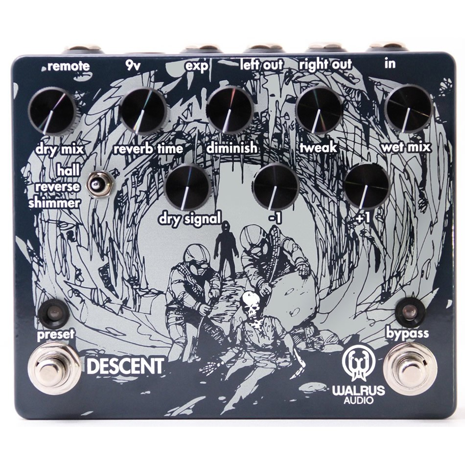 Walrus Audio Descent Reverb Review With Video