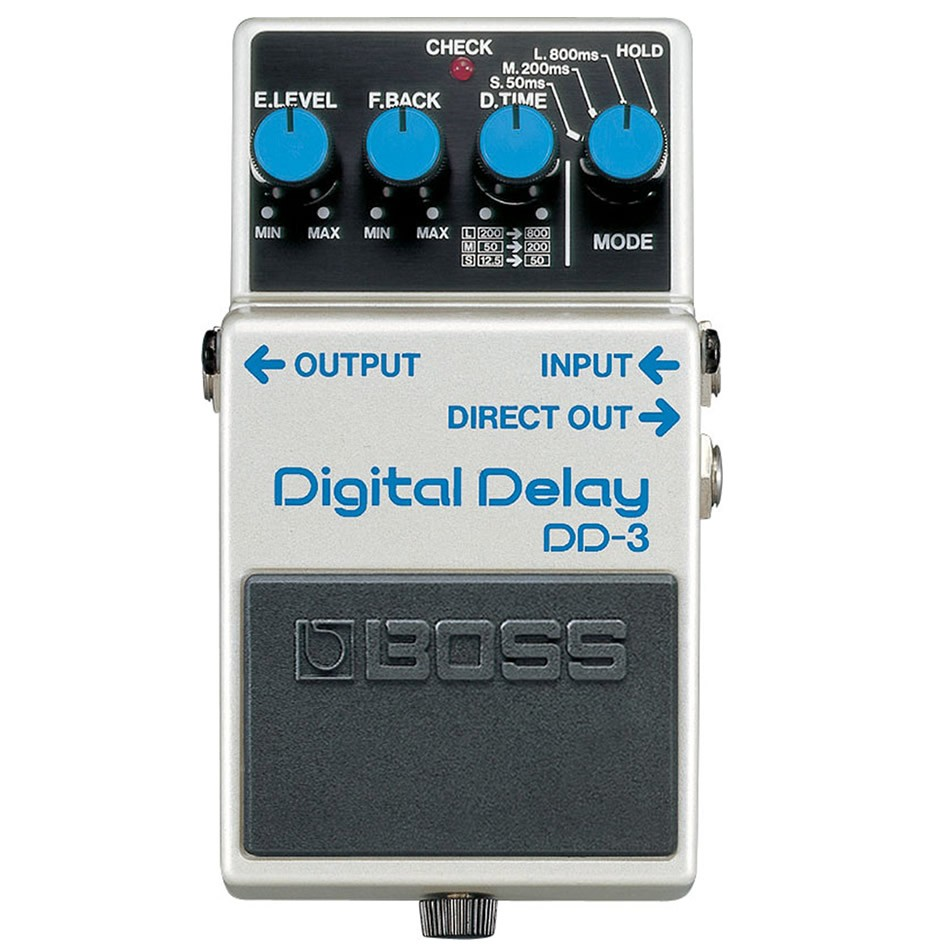 Boss DD-3 Digital Delay Pedal Review