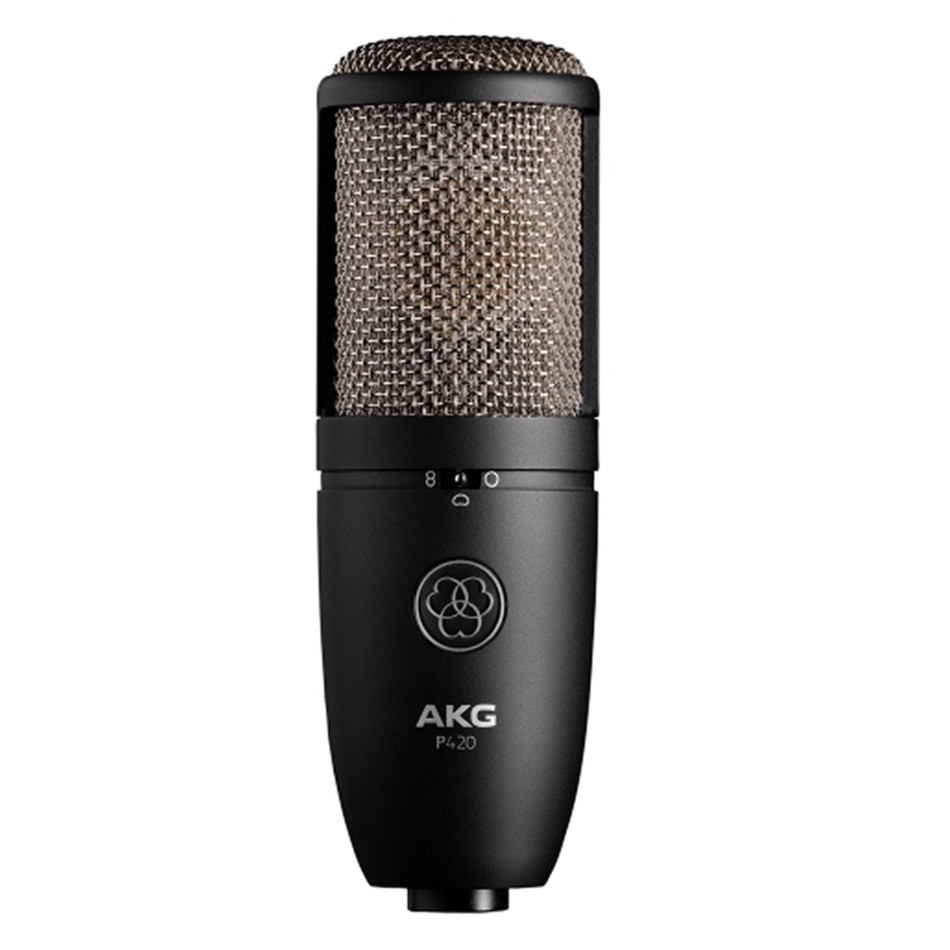 AKG P420 Condenser Multi-Pattern Microphone Review