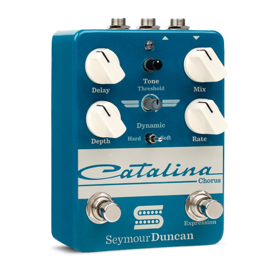 Check Out The Catalina Chorus And Palladium Gain Stage From Seymour Duncan