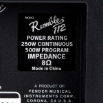 Bass Amp Continuous And Program Power Ratings Explained