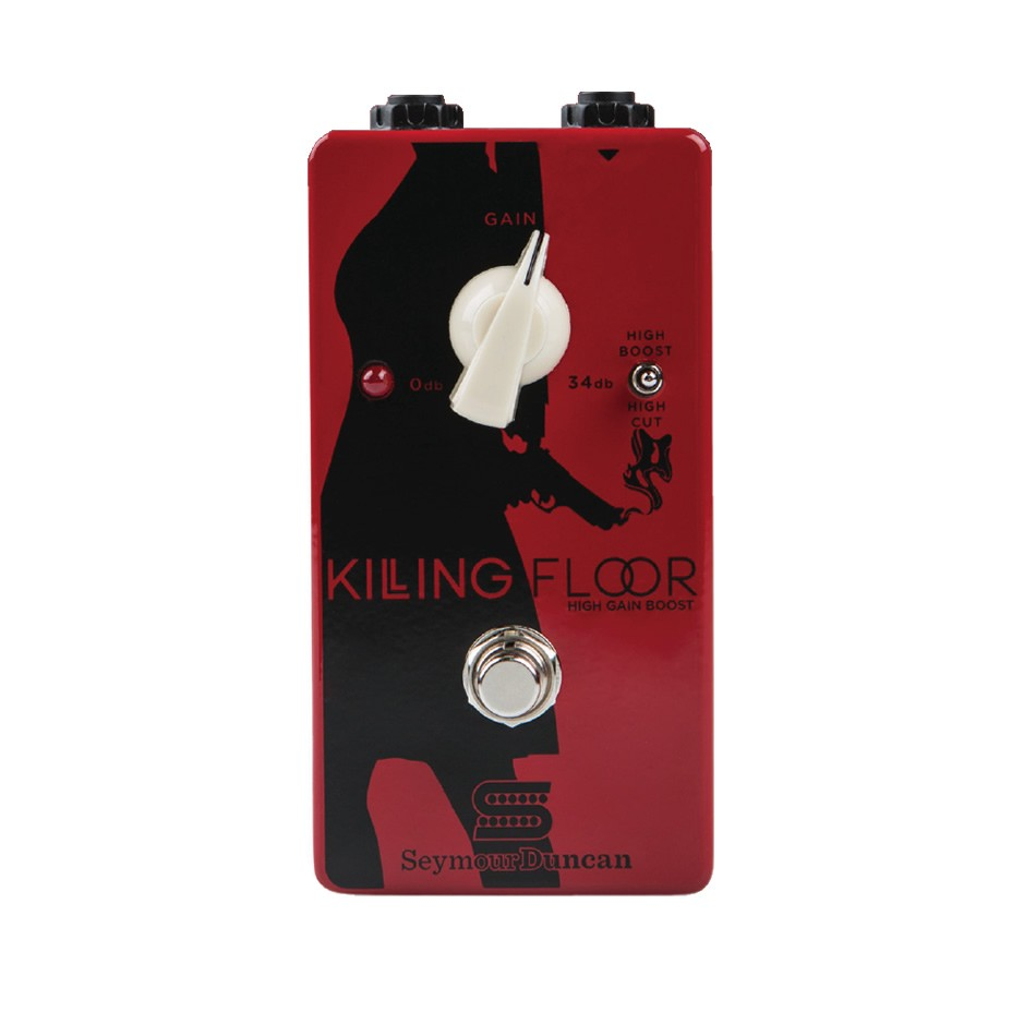 First Impressions On The Seymour Duncan Killing Floor High Gain Boost Effects Pedal