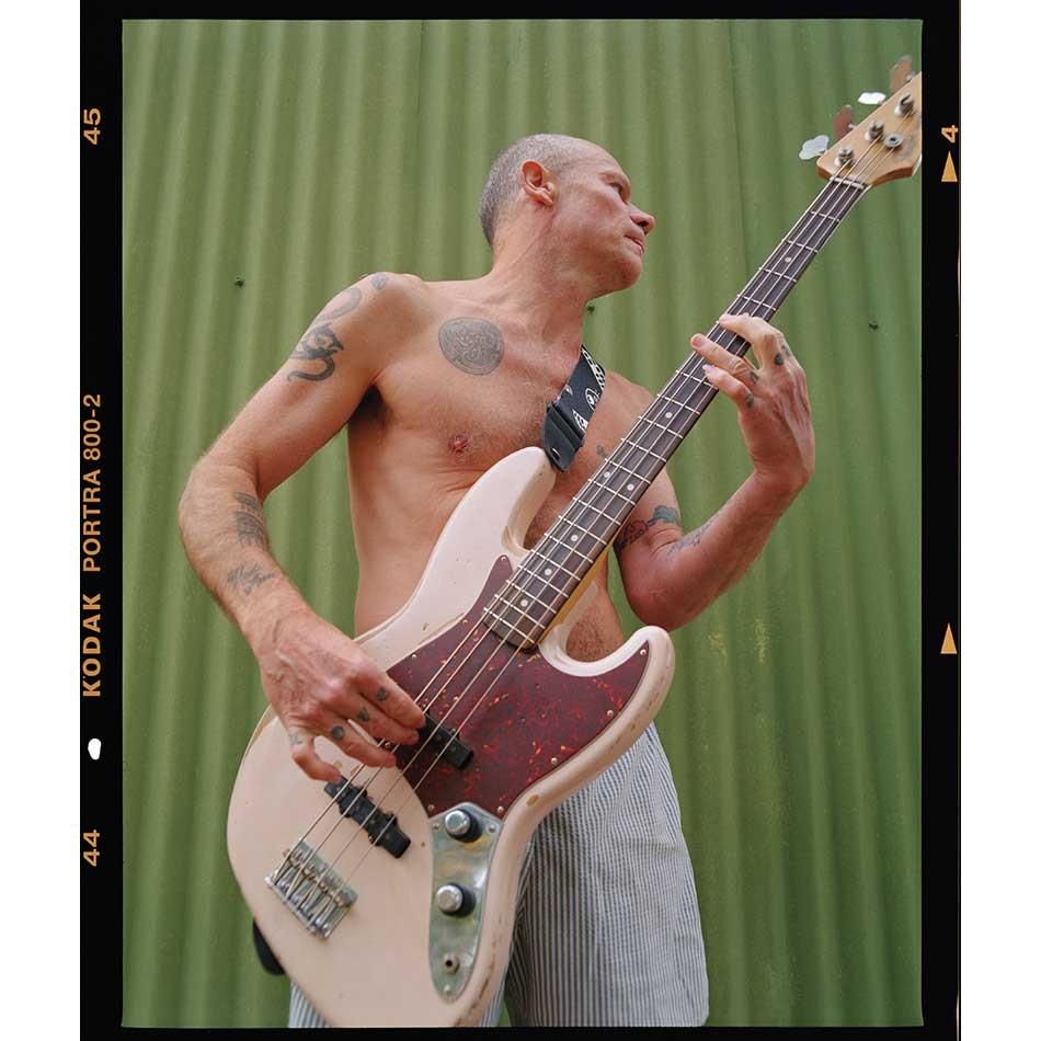 The New Fender Flea Signature 61 Jazz Bass