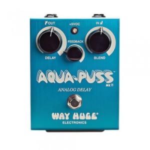 Way Huge Aqua-Puss Analog Delay Effects Pedal
