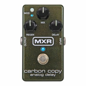 MXR Carbon Copy Delay M169 Guitar Effects Pedal