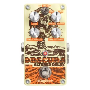 Digitech Obscura Altered Delay Guitar Effects Pedal
