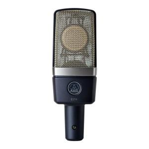 AKG C214 acoustic mic