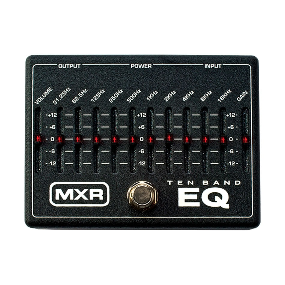 How To Use The MXR M108 10-Band EQ Pedal
