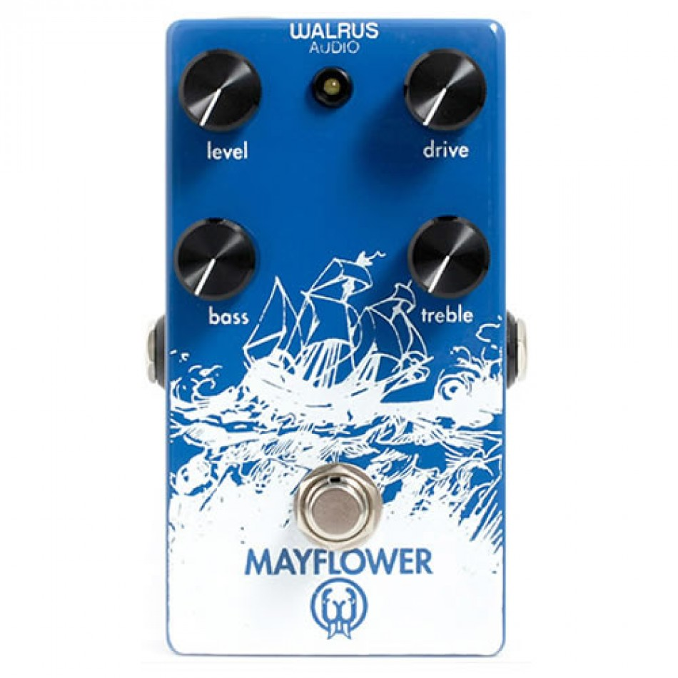 Hands-On With The Walrus Audio Mayflower Overdrive Guitar Pedal