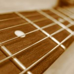 Guitar Fret And Fretboard Closeup