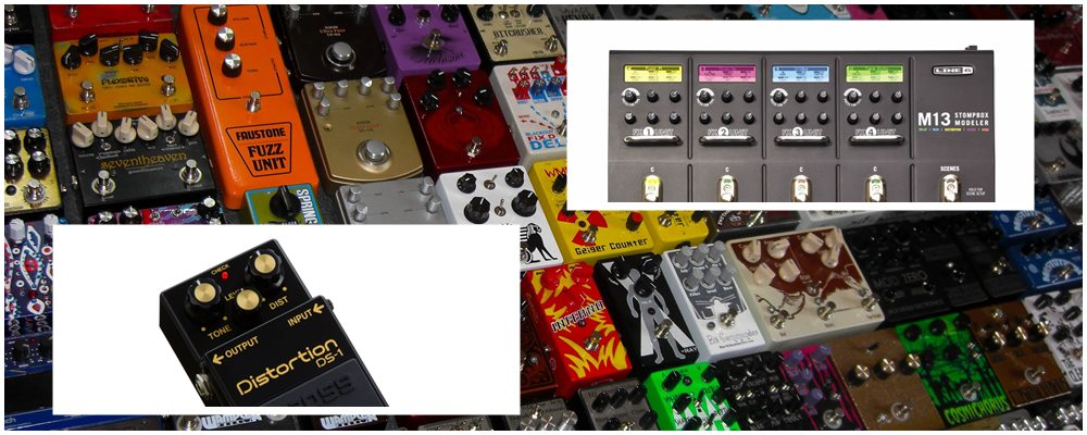 Single Effects Pedals vs Multi-Effects Pedals