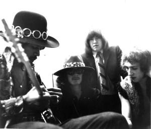 Seymour Duncan And Jimi Hendrix
