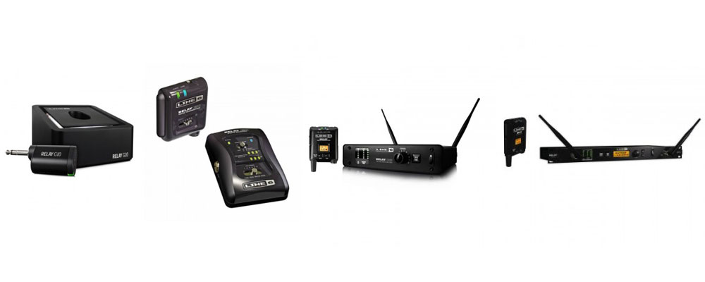 Line 6 Wireless Relay System Showdown: G10, G30, G55 and G90 Compared