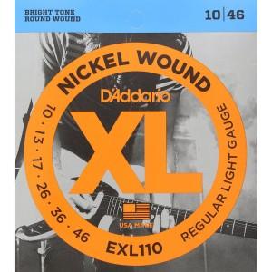 D'Addario XL Nickel wound strings