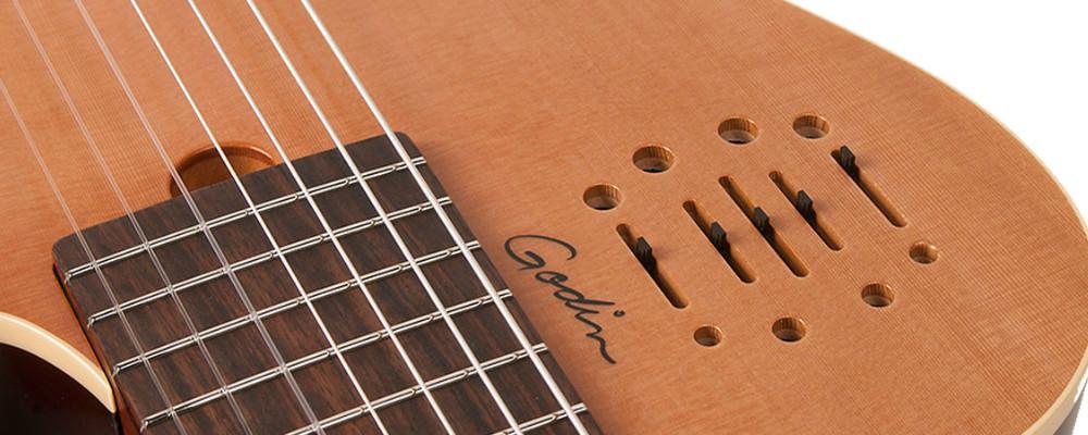 Godin MultiAc Nylon Encore 7 Acoustic Electric Guitar Review