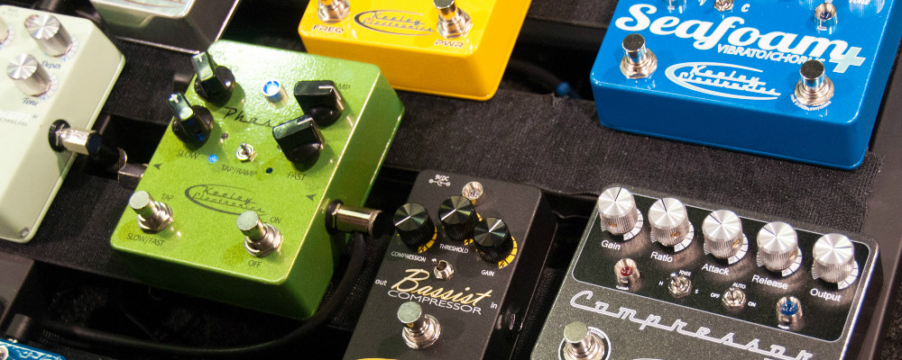 Wrapping Your Head Around Guitar Effects Pedals