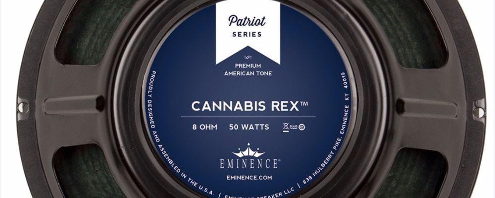 A Closer Look At The Eminence Cannabis Rex Guitar Speaker