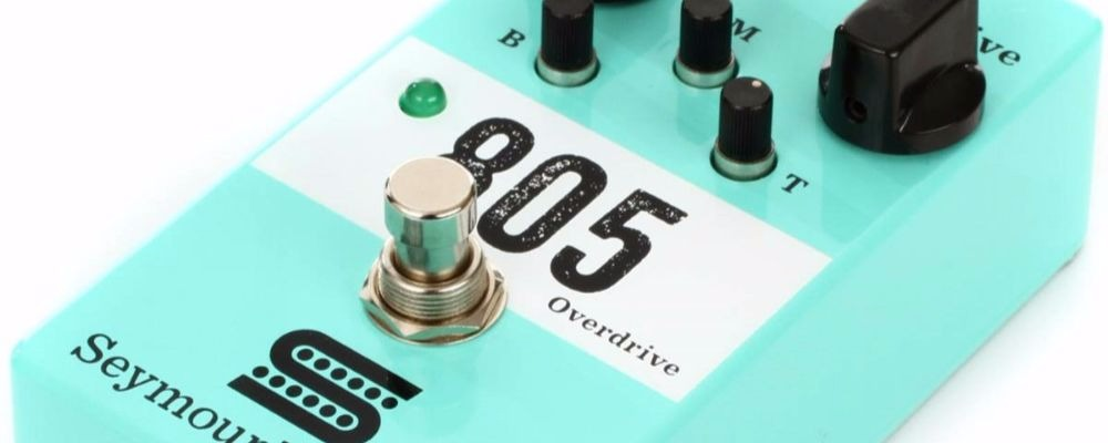 Seymour Duncan 805 Overdrive Effects Pedal Review