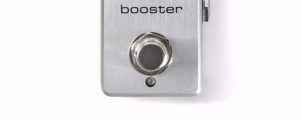 Three Reasons To Own A Booster Guitar Effects Pedal