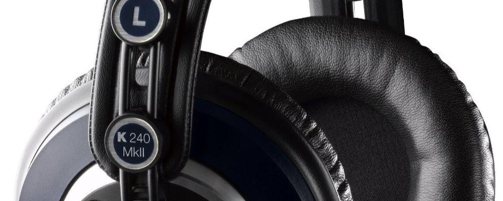 AKG K240 Studio And K240 MKII Headphone Review