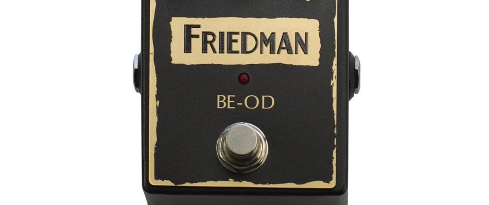 Friedman BE-OD Guitar Pedal Review